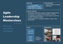 Produktblatt Agile Leadership Masterclass Titel